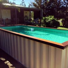 24 Astonishing Shipping Container Ideas For Your Swimming Pool On Your Backyard - Every year the heat rises. Every year homes become smaller. Lack of space and the increasing temperatures, make summers a special kind of suffering.