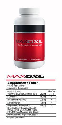MaxGXL® Proporciona protección contra el estrés oxidativo y los radicales libres. Apoya la función celular y la salud.
