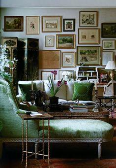 Serene room...