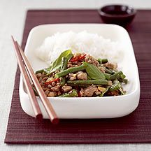 Chinese Stir-Fried Pork Mince with Beans Recipe | Weight Watchers UK