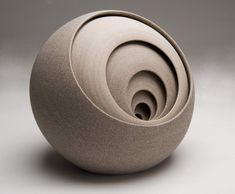 Ceramic Sculptures by British artist Matthew Chambers | Matthew creates abstract contemporary ceramic sculptures. He began his journey in 1993 with a training in handmade tableware with Philip Wood in Nunney, the Somerset villiage where he grew up. |