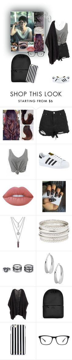 """""""Winner - Mino"""" by chansoo ❤ liked on Polyvore featuring adidas, Lime Crime, Charlotte Russe, Lulu*s, Robert Lee Morris, H&M, Rains, MICHAEL Michael Kors and Joseph Marc"""