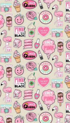 Get Latest Anime Wallpaper IPhone Pattern Print pink Unicornios Wallpaper, Kawaii Wallpaper, Cute Wallpaper Backgrounds, Pretty Wallpapers, Wallpaper Iphone Cute, Tumblr Wallpaper, Galaxy Wallpaper, Drawing Wallpaper, Wallpaper For Girls