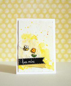 Lawn Fawn - Bee Mine by Vilena via Flickr