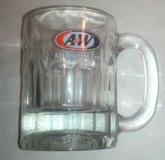 "A Root Beer ""All American Food"" 4"" Soda Mug"