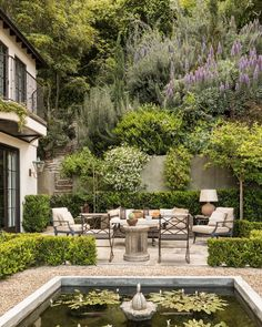 Outdoor Rooms, Outdoor Gardens, Outdoor Living, Ponds Backyard, Backyard Landscaping, Landscaping Ideas, Dream Garden, Home And Garden, Garden Bar