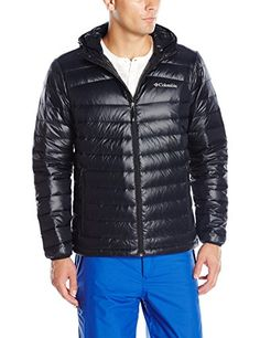 Columbia Men's Platinum 860 TurboDown Hooded Down Jacket, XX-Large, Black >>> Check out the image by visiting the link.