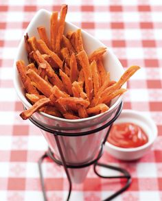 Salt & Pepper Sweet Potato Fries