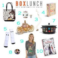 10 Disney Best Sellers From 3 of Our Favorite Online Stores | Box Lunch Disney accessories + fashion + coloring book + jewelry | [ http://di.sn/6006BhQLG ]