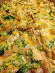 Chicken & BroccoliAlfredo - 6 Weight Watchers pp