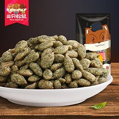 Three squirrel 120g _ seaweed snacks specialty melon seeds sunflower seeds nuts roasted seaweed flavor * Click image to review more details-affiliate link. #SeaweedSnacks