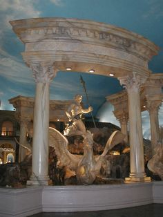Inside the Forum Shops, Caesars Palace