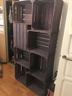 Handmade box shelf 😀