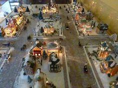 Christmas Town Decorations are certainly one inseparable section of the Christmas holidays, without which Christmas would lose all of its color, spiri. Christmas Tree Village, Halloween Village, Christmas Town, Christmas Villages, Noel Christmas, Christmas Items, Vintage Christmas, Christmas Crafts, Christmas Tables