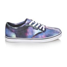 Women's Vans Atwood Low Textile | Shoe Carnival (225 RON) ❤ liked on Polyvore featuring shoes, sport shoes, vans footwear, sports shoes, textile shoes and dressy shoes
