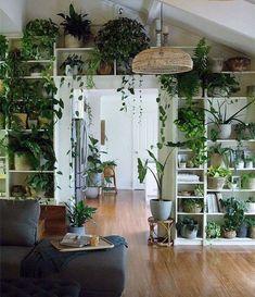 Room Ideas Bedroom, Bedroom Decor, Nature Bedroom, Garden Bedroom, Bedroom Green, Green Rooms, The Garden Room, Room Decor Boho, Nature Inspired Bedroom