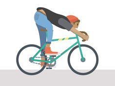 Cycle guy layered