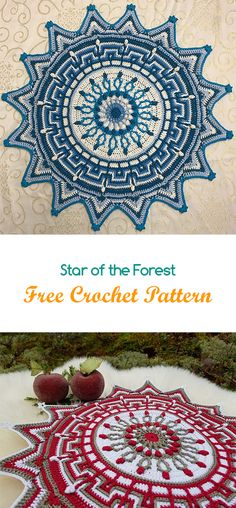 Star of the Forest Free Crochet Pattern