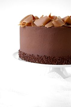 Amaretto could be replaced by Frangelico! Yum! These Peas are Hollow: Triple Chocolate Ganache Torte