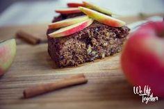 Zdravý jablkový koláč bez múky a cukru | We Lift Together