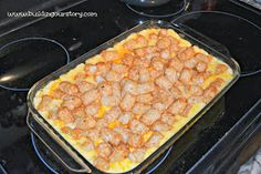 Building Our Story: Chicken Tator Tot Casserole Bake #Recipe