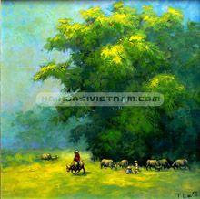 Tranh làng quê Việt Nam 009