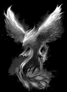 Phoenix Tattoo – Tattoo's World! Phoenix Artwork, Phoenix Wallpaper, Phoenix Images, Dark Fantasy Art, Dark Art, Phoenix Bird Tattoos, Phoenix Tattoo Design, Mythical Creatures Art, Fantasy Creatures