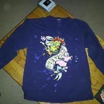 spongebob rock shirt
