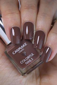 Canmake Tokyo Polishes   grape fizz nails   Bloglovin'