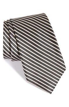 Nordstrom 'Down Hill Skier' Stripe Silk Tie