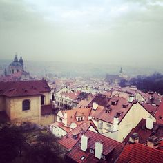Rainy Prague.