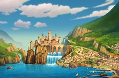 The Kingdom of Avalor is the main location of the Disney Channel animated series Elena of Avalor. It is a beautiful kingdom and is home to Princess Elena, her family, and friends. It is based on Latin America. The Kingdom of Avalor was born centuries ago in a area that used to be part of the Kingdom of Maru. Its spiritual holiday is Dia de los Muertos. Its winter holiday is Navidad. Its capital is Avalor City. Its culture is mostly Latin American.