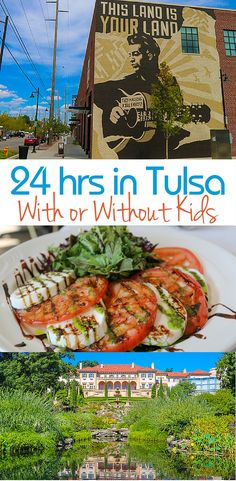 We've got you covered with this fun-filled itinerary (with or without kids) for 24 hours in Tulsa, Oklahoma.