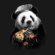 A fun T shirt design featuring a police panda eating a colorful lollypop. Art D'ours, Panda Bebe, Panda Art, Panda Panda, Panda Wallpapers, Panda Gifts, Most Beautiful Animals, Love Pizza, Bear Art