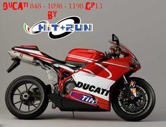 Ducati 848 1098 1198 GP13 - RENDERING LATERALE