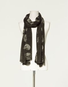 I own 3 different skull scarves and wear them often. My fav is one similar to this one but I'm going to be buying this one also.