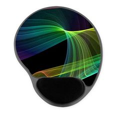 Sold Chaotic Rainbow on Black Mousepad sale 20% off