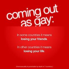 Coming Out As Gay by danlev on DeviantArt Lgbt History, Find Your Friends, Losing Friends, Lesbian Pride, Lets Do It, Straight Guys, Rainbow Pride, How I Feel, Coming Out