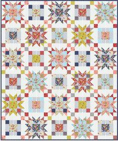 Wallflower Quilt Pattern | Craftsy