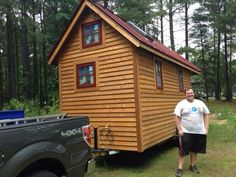 It finally came time to move my tiny house from the land where I built it, to the land where I planned to live on it.  Initially I had planned to build and live in it on the same property, but circ…