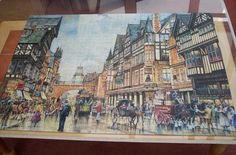 pieces: Old Chester, made by W. Chester, Jigsaw Puzzles, June, Painting, Art, Art Background, Painting Art, Paintings, Kunst