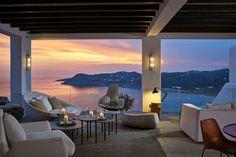 Spectacular Beach Resort on Mykonos, Greece