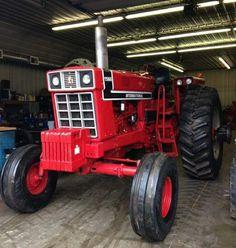 1544 best only red tractors images on pinterest international 1976 ih 1566 black stripe freerunsca Images