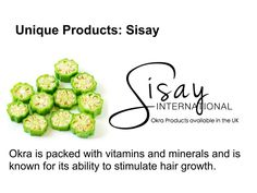 Sisay International flax and okra products