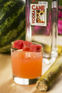 Watermelon Passion Fruit Cocktail - Florida Fresh Marketplace