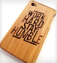 Stay Humble iPhone Case » Loving this case.