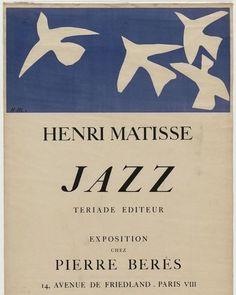 """kitty-n-classe: """" Henri Matisse, Jazz, Paris 1947 """""""