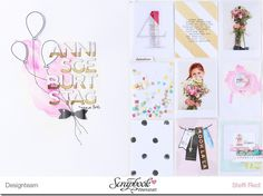 """Project Life Doppelseite """"4. Geburtstag"""" - Scrap Sweet Scrap"""