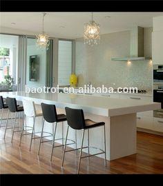 Meer dan 1000 idee n over hoge top tafels op pinterest kroegtafels toonbank hoge tafel en - Bar design keuken ...