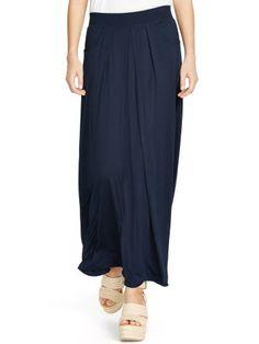 Elasticized Jersey Maxiskirt - Polo Ralph Lauren Maxi Skirts - RalphLauren.com